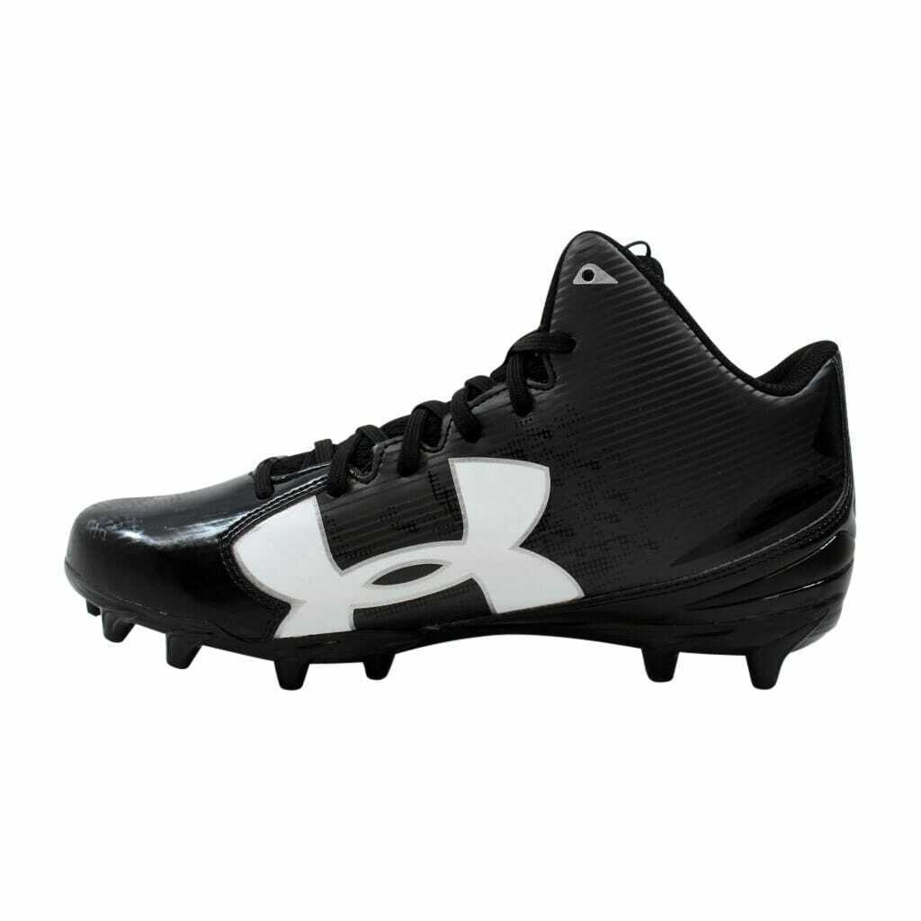 Primary image for Under Armour Fierce Phantom MC Black/White 1283304-001 Men's SZ 10.5