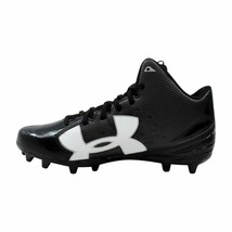 Under Armour Fierce Phantom MC Black/White 1283304-001 Men's SZ 10.5 - $37.05