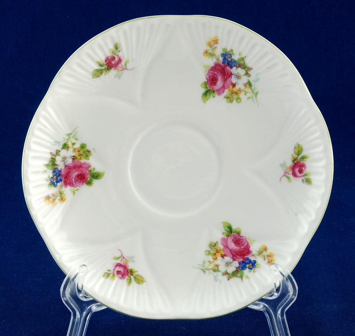 Shelley hulmes rose dainty saucer