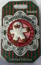 Disneyland Seasons Eatings 2017 Matterhorn Abominable Snowman Gingerbread Pin - $14.85