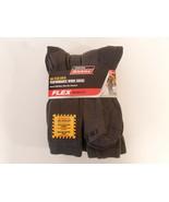 Dickies Size 12-15 Big and Tall Mens Comfort Crew Work Socks 6 Pairs Gray Grey - $23.95