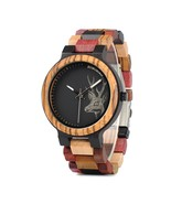 BOBO BIRD W*P14-2 Elk Deer Head Quartz Watches Colorful Band  Men Women ... - $50.83