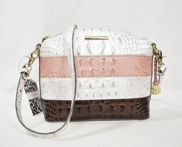 NWOT Brahmin Mini Duxbury Shoulder / Crossbody Bag in Toasted Macroon Ca... - $169.00