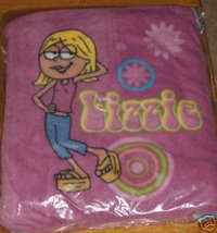 NWT DISNEY STORE LIZZIE MCGUIRE FLEECE BLANKET BACKPACK - $15.66