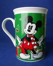 2013 Disney Mickey Mouse Christmas Gifts Coffee Mug Cup 10 Oz. Ceramic - $3.50
