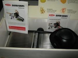 OXO Good Grips Chefs Mandolin Slicer Stainless Steel Blade 21 Settings L... - $34.64