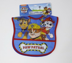 Nickelodeon Set of 2 Paw Patrol Water Resistant Crumb Catcher Bibs - $9.99