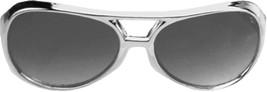 Glasses Rock N Roll Slvr Smoke Adult Unisex Costume Accessories - £18.64 GBP