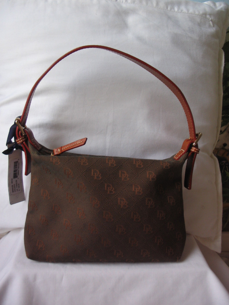 DOONEY & BOURKE OLIVE GREEN FINELY CRAFTED HANDBAG / TOTE NEW WITH TICKET