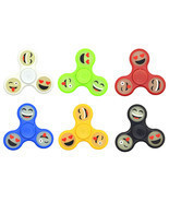 Glow in the Dark Tri Fidget Hand Finger Spinner Toy Stocking Stuffer - £3.19 GBP