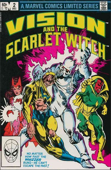 Marvel VISION AND THE SCARLET WITCH (1983 Series) #2 VF