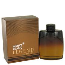 Mont Blanc Montblanc Legend Night Cologne 3.3 Oz Eau De Parfum Spray image 1