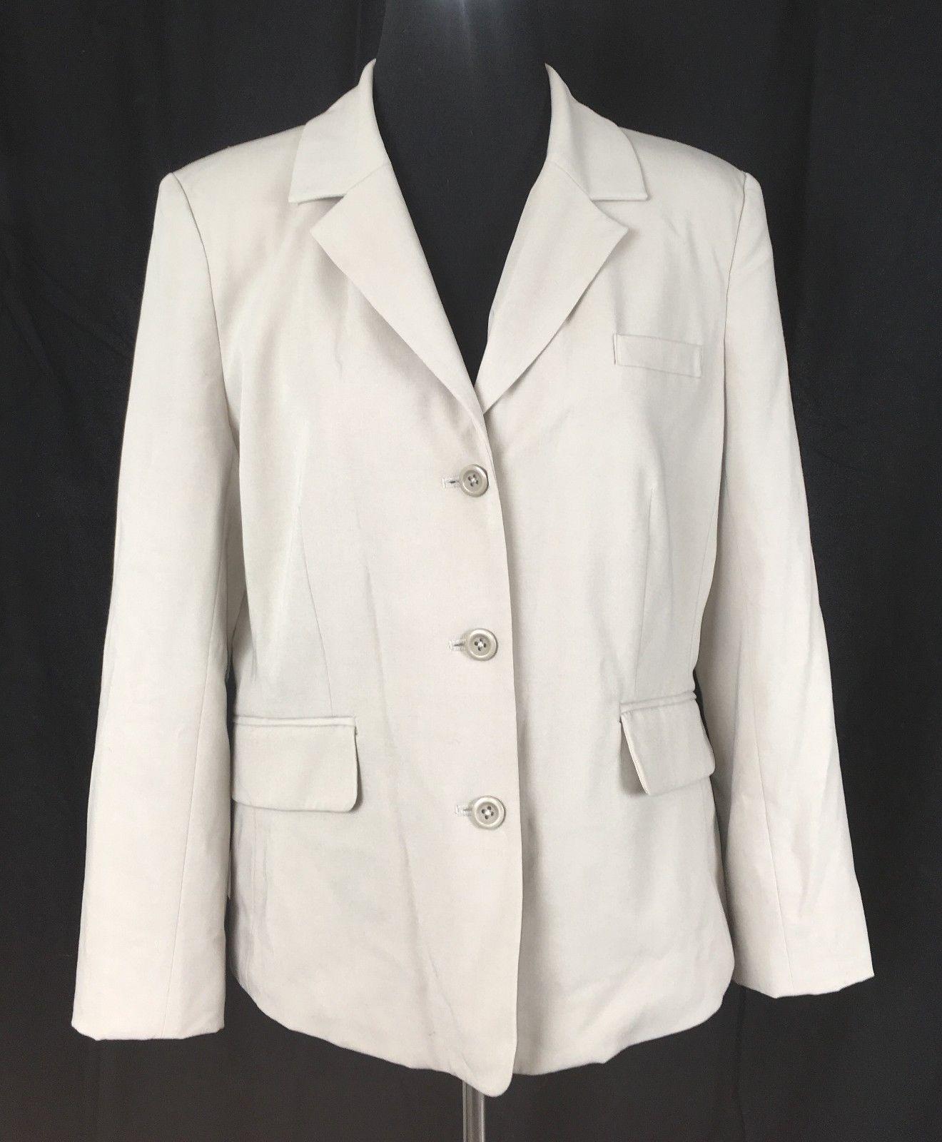 5f7aa148b Merona Beige/Ivory 3-Button Blazer Jacket and 50 similar items