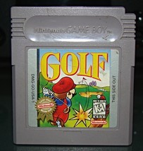 Nintendo GAME BOY - GOLF (Game Only) - $5.00