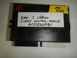 BMW 3 SERIES LIGHT CONTROL MODULE # 61358367981( BOX-9765) - $9.85