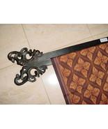 6 Hand carved Elegant Quilt or Textile Art Display Hangers Bar Rack Fini... - $275.49