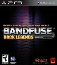 BandFuse: Rock Legends Playstation 3 PS3  Disk Only - $20.26