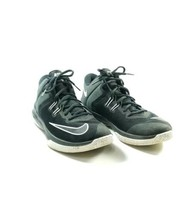 Nike Mid Top Athletic Shoes Men's Sz 10 Black (tu21ep) - $27.00