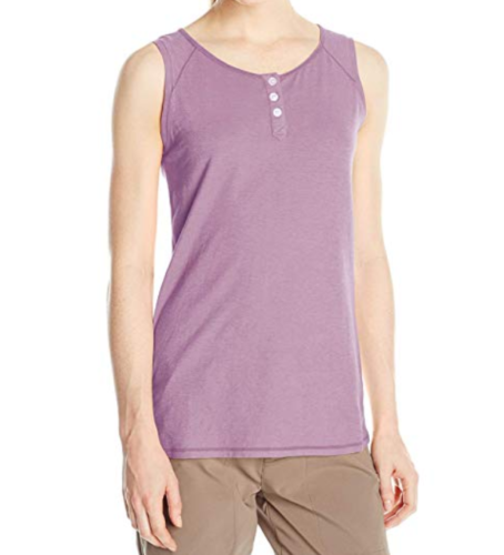 Small 4-6 White Sierra Women's Kylie Tank Top Sleeveless Tee Shirt Grape