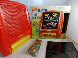Lite Brite Flat Screen Battery Powered Hasbro 2006 In Box - $15.11