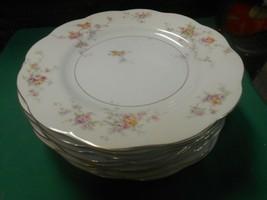"Beautiful Theodore Haviland Made In America...6 BREAD-SALAD-DESSERT Plates 6.25"" - $36.22"