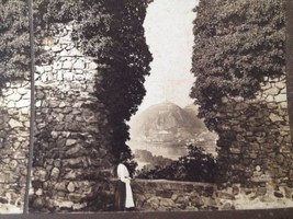 Stereoview Card 1902 Rolands Arch Germany H C White Rhine Antique Photo - $17.10
