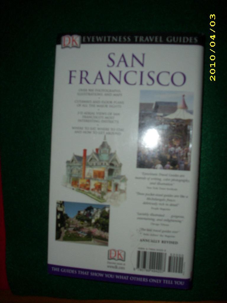 San francisco dk eyewitness travel guides nonfiction for Travel guide san francisco
