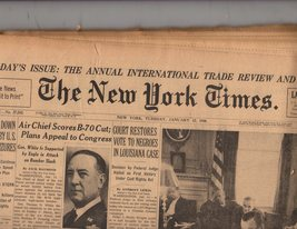 The New York Times January 12,1960 - $6.95