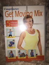 Weight Watchers Get Moving Mix DVD 5 Different Workouts! New & Sealed - $6.79