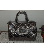 Victoria's Secret Satchel Angel Metallic Gold Handbag Purse Tote Cosmeti... - $19.99
