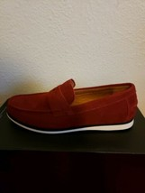 Alfani Men's Sawyer Slip-On Loafers, Created for Macy's, Red - US 8M - $44.55