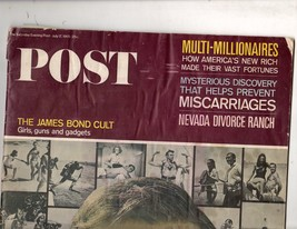 Post - The Saturday Evening Post - July 17,1965 - $3.00