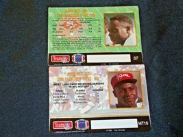 San Francisco 49er's Jerry Rice #80 Football Trading Cards AA-191805 Vintage Co image 5