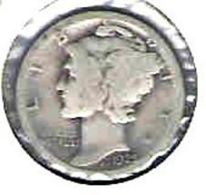 Nice 1925 S Mercury dime  - $4.00