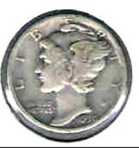 Nice 1930 P Mercury dime  - $4.00