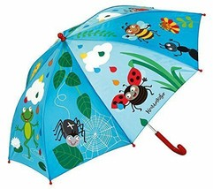 moses. Krabbelkäfer Regenschirm Bunte Tropfen , Schirm für Kinder im far... - $23.55