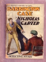 NEW MAGNET LIBRARY-#1303-BABBINGTON CASE-NICK CARTER FR - $31.53
