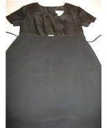 WOMEN MOTHERHOOD BLACK PARTY DRESS SMALL - $17.99