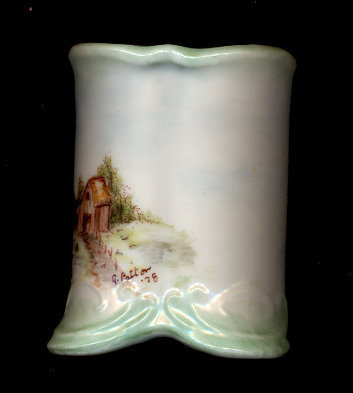 Primary image for Lovely Signed G. Patton '78 Porcelain Toothpick