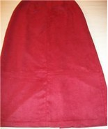 WOMEN KORET PETITES LONG DRESS RUST COLOR SKIRT SIZE 8 - $14.99