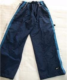 ATHLETIC TRACK PANTS NIKE MEN WOMEN UNISEX S SMALL NAVY