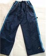 ATHLETIC TRACK PANTS NIKE MEN WOMEN UNISEX S SMALL NAVY - $12.50