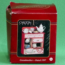 """1997 Carlton Cards Heirloom Collection """"Grandmother"""" Christmas Ornament - $2.95"""