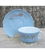 Hand Painted Lilien Porzellan Cup and Saucer Au... - $12.00