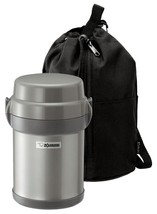 Zojirushi SL-JAE14SA Mr. Bento Stainless Steel Lunch Jar Silver - $47.40