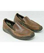 Cole Haan Size 10 W Brown C04059 Leather Slip Loafer Comfort Men's Shoes - $15.19