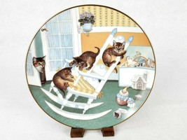 """""""Rock and Rollers"""" ~ Gre Gerardi Collector Plate, Country Kitties, #3662B - $6.81"""