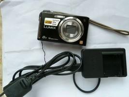 Panasonic Lumix FS35 Digital Camera - Black (16.1MP, 8x Optical Zoom) 2.7 inch L - $45.50