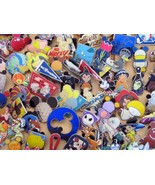 Disney Hidden Mickey Cast Lanyard Collector Badge Pin LOT of 30 Pins NO DOUBLES - $15.95