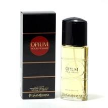 Opium Pour Homme By Yves Saint Laurent - Edt Spray 3.3 OZ - $65.29